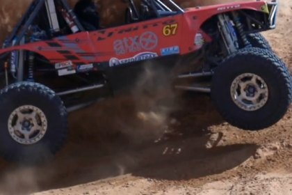 NITTO® Trail Grappler on Buggy Loren Healy (HD)