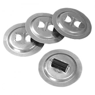 Norco Industries® - Base Pads For Bal Jacks Of Set 4 and 7 1/4""