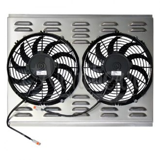 "Northern Radiator® - 11"" Electric Fan and Shroud Assembly"