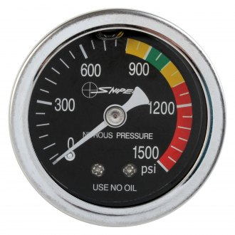 "NOS® - 1-1/2"" Liquid Filled Nitrous Pressure Gauges"