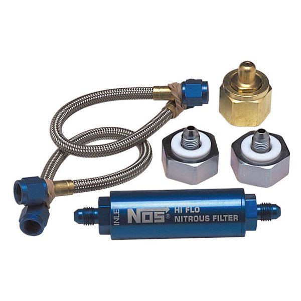 NOS® - Nitrous Refill Pump Station Line and Filter Assembly