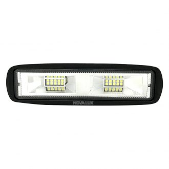"Nova-Lux® - 6.25"" Rectangular LED Fog Light with Mirror Reflectors"