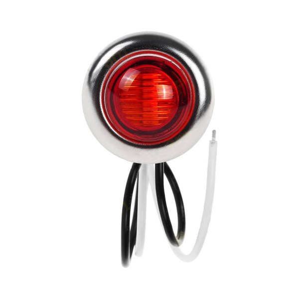 "Nova-Lux® - Mini 1"" Round Red LED Side Marker Light"