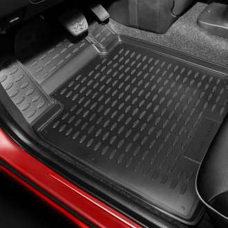 Novline® - 1st & 2nd Row Set Black Floor Liners Set