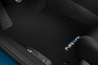 NRG Innovations® - Black Floor Mats with NRG Logo