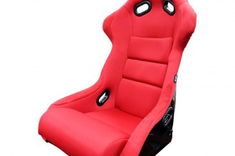 NRG Innovations® - FRP 300 Series Racing Seat, Red