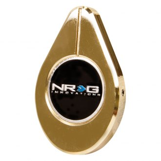 NRG Innovations® - Gold Radiator Cap Cover with NRG Innovations Logo