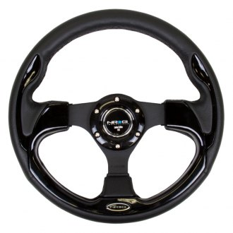 NRG Innovations® - 3-Spoke Race Style Sport Steering Wheel