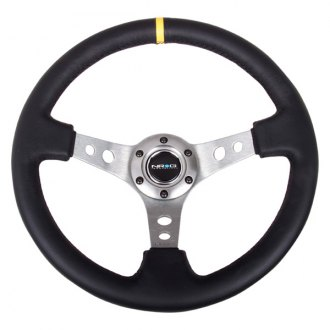 NRG® - 3-Spoke Reinforced Steering Wheel with Center Mark