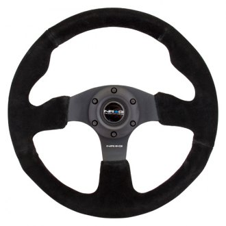NRG Innovations® - 3-Spoke Race Style 320mm Steering Wheel