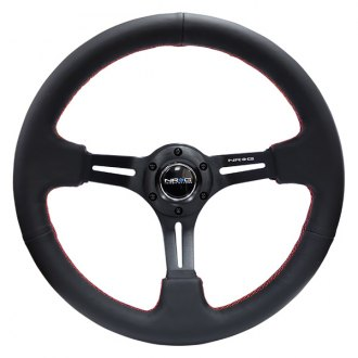 NRG Innovations® -  350mm Reinforced Steering Wheel