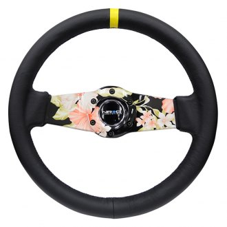 NRG Innovations® - 2-Spoke Floral Dipped Sport Steering Wheel