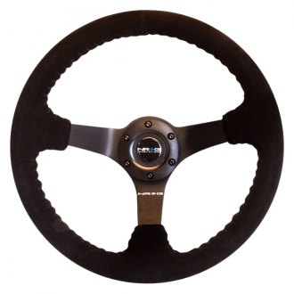 "NRG Innovations® - 3-Spoke ""ODI"" Aurimas Bakchis Inspired Steering Wheel with Engraving"