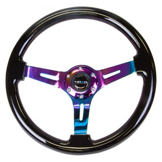 NRG Innovations® - Classic Wood Reinforced Steering Wheel