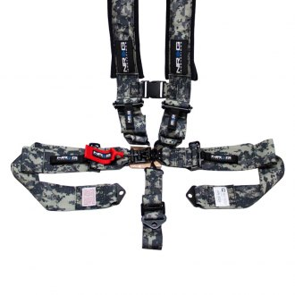 NRG Innovations® - 5 Points SFI Latch Link Seat Belt Padded Harness