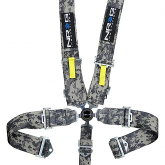 NRG Innovations® - 5 Points SFI Cam Lock Seat Belt Harness