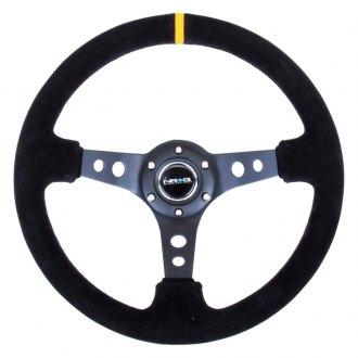 NRG Innovations® -  350mm Sport Steering Wheel with Center Marking