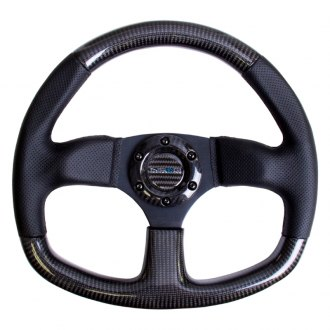 NRG® - 3-Spoke Carbon Fiber Sport Suede Steering Wheel