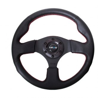 NRG Innovations® - Sport Leather Steering Wheel