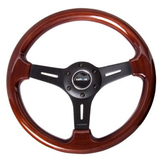 NRG® - 3-Spoke 330mm Classic Wood Grain Steering Wheel