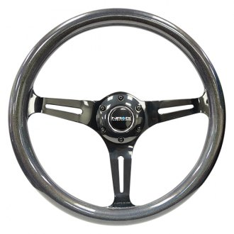 NRG Innovations® - 3-Spoke Chameleon Classic Wood Grain Steering Wheel