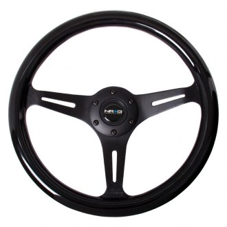 NRG® - 3-Spoke Classic Wood Grain Steering Wheel