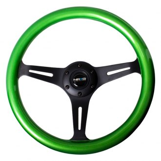 NRG Innovations® -  350mm Classic Wood Grain Steering Wheel