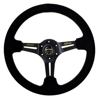 NRG® - 3-Spoke Ryan Litteral Premium Sued Steering Wheel