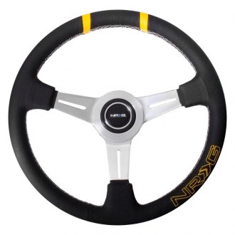 "NRG® - 3-Spoke ""Bumble Bee"" Sport Steering Wheel"