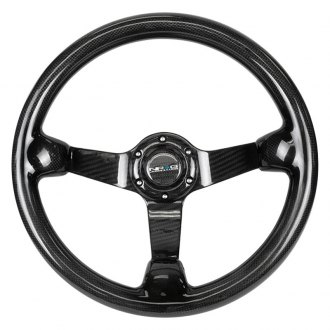 NRG® - 3-Spoke Full Carbon Fiber Steering Wheel