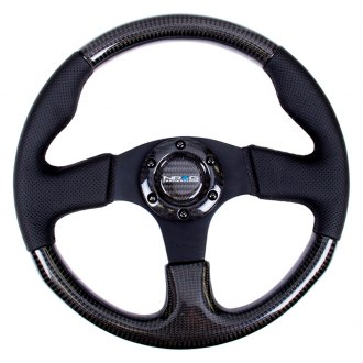 NRG® - 3-Spoke Carbon Fiber Steering Wheel