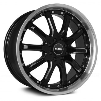 NS SERIES® - NS1010 Black with Machined Lip
