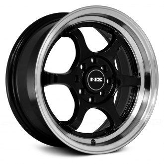 NS SERIES® - NS1202 Black with Machined Lip