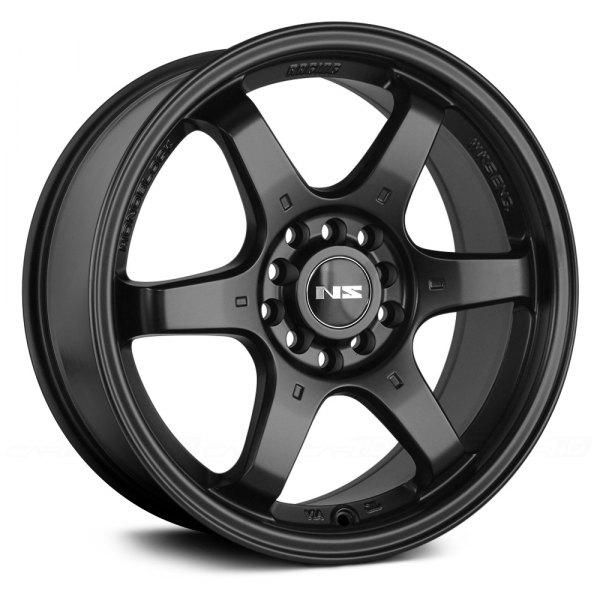 Ns Series 174 Ns1507 Wheels Matte Black Rims