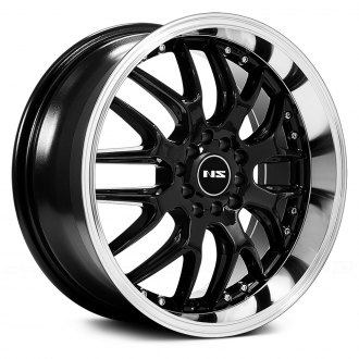 NS SERIES® - NS9002 Black with Machined Lip