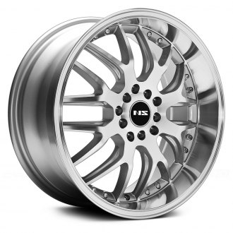 NS SERIES® - NS9002 Silver with Machined Face and Lip
