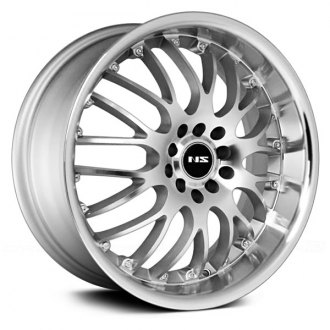NS SERIES® - NS9003 Silver with Machined Face and Lip