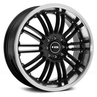 NS SERIES® - NS9004 Black with Machined Lip