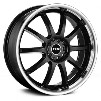 NS SERIES® - NS9016 Black with Machined Lip