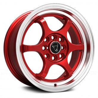 NS SERIES® - TR1202 Red with Machined Lip