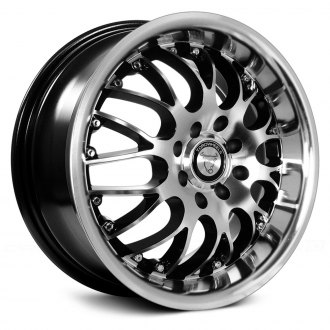 NS SERIES® - TR9003 Black with Machined Face and Lip