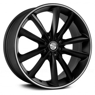 NS SERIES® - TR9012 Matte Black with Machined Stripe