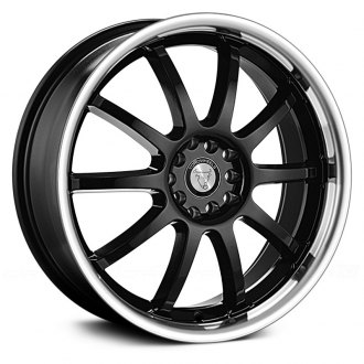 NS SERIES® - TR9016 Black with Machined Lip