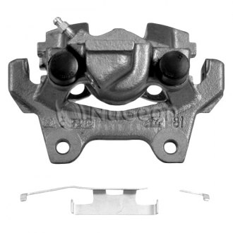NuGeon - Rear Passenger Side Premium Semi-Loaded Remanufactured Brake Caliper