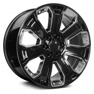 OE CREATIONS® - 162 Gloss Black with Chrome Accents