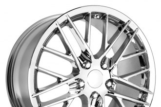 "OE CREATIONS® - 121 Chrome (17"" x 8.5"", +49 Offset, 5x120.65 Bolt Pattern, 70.7mm Hub)"