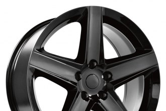 "OE CREATIONS® - 129 Gloss Black (20"" x 9"", +34 Offset, 5x127 Bolt Pattern, 71.5mm Hub)"