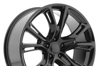 "OE CREATIONS® - 137 Gloss Black (20"" x 9"", +34 Offset, 5x127 Bolt Pattern, 71.5mm Hub)"