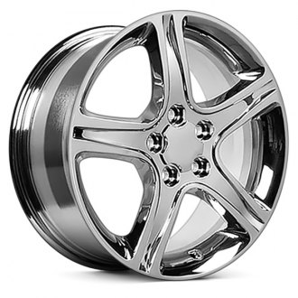 "OE Wheels® - 17"" Replica 5 Spokes Chrome Factory Alloy Wheel"