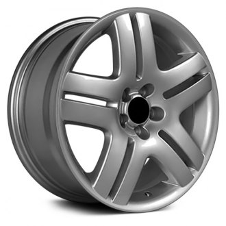 "OE Wheels® - 17"" Replica 5 Spokes Silver Factory Alloy Wheel"